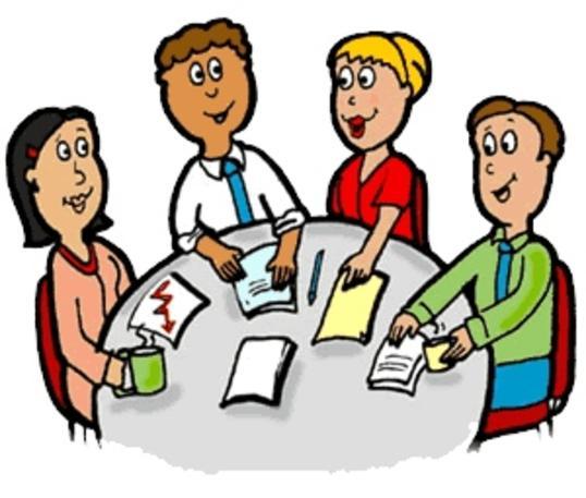 illustrasjon av foreldregruppe
